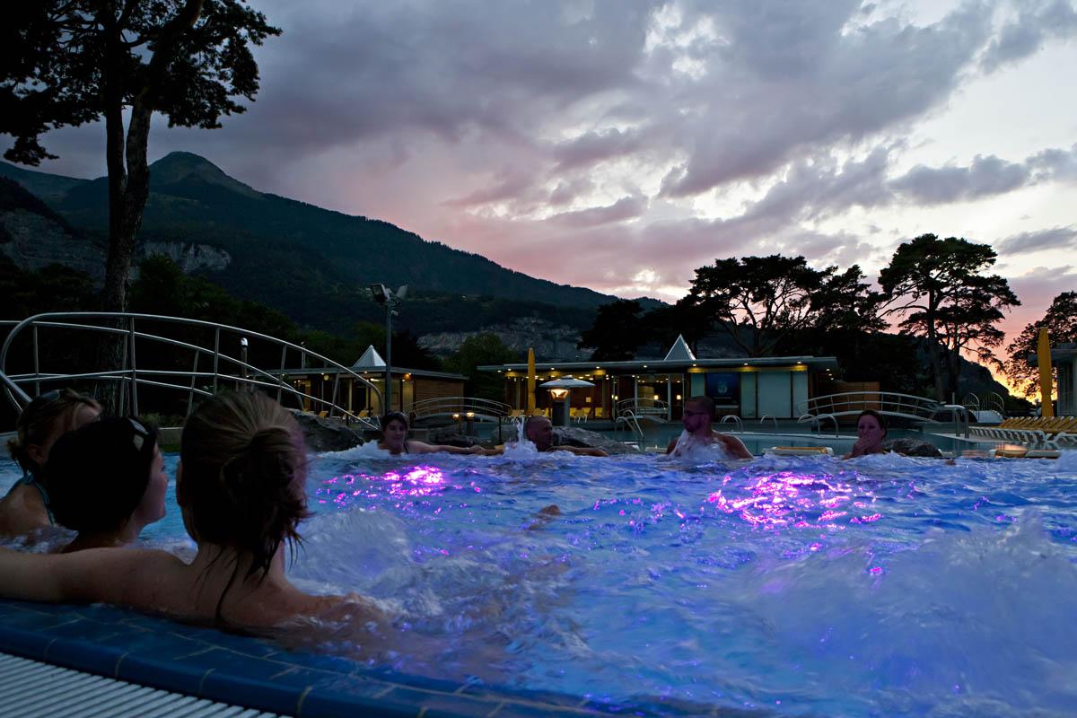 Les bains de lavey saint maurice tourisme valais for Les bains de